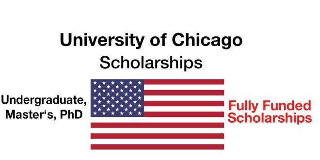 University of Chicago Scholarship for International Students 2021 Updated