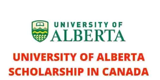 The University of Alberta (Canada) Scholarships for International Students